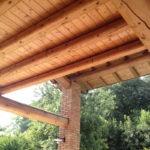 Dach aus Rundhölzern_galerie