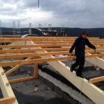 Richtarbeiten Dachkonstruktion_galerie
